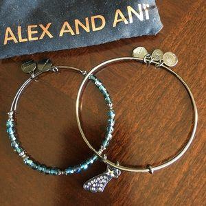 Alex and Ani bracelet wish on a star